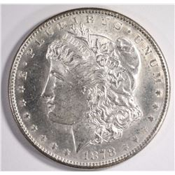 1878-S MORGAN SILVER DOLLAR CHOICE BU