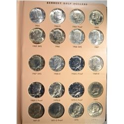 130 COIN KENNEDY HALF DOLLAR SET