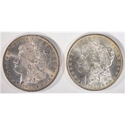 1883-O & 1884-O CHOICE BU+ MORGANS