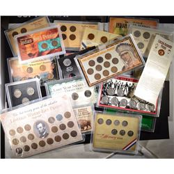 35 - SPECIAL TRIBUTE COIN SETS; INDIAN HEADS,