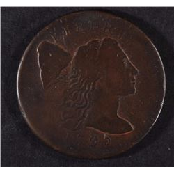 1795 FLOWING HAIR LARGE CENT F/VF