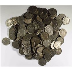 200 PARTIAL & FULL DATE BUFFALO NICKELS