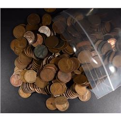 "500 ""S"" MINT CIRC LINCOLN WHEAT CENTS"