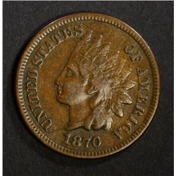 1870 INDIAN HEAD CENT F-VF  KEY DATE