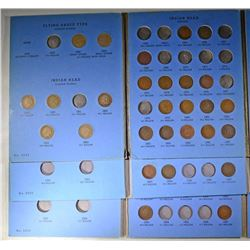 3 - INDIAN HEAD CENT SETS WITH TOTAL OF 101 COINS: