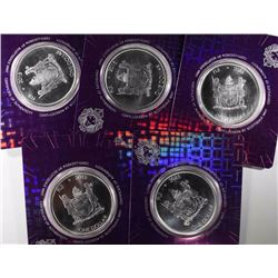 4-FIGI ONE OUNCE .999 IGUANA COINS