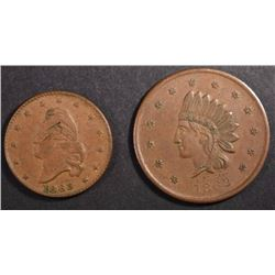 2-CIVIL WAR TOKENS
