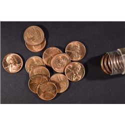 BU ROLL OF 1941-D LINCOLN CENTS