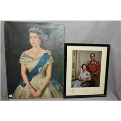 Selection of Royalty prints including Elizabeth, George VI, Elizabeth on horseback and aging Elizabe