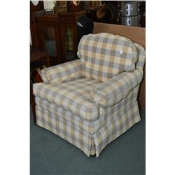 Two Ethan Allen upholstered chairs