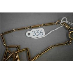 "Gent's 14kt yellow gold watch chain 15.50"" in length. Retail replacement $548.00"