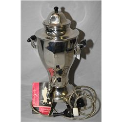 Russian electric samovar complete with cord and instruction booklet