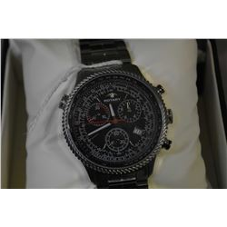 Brand new jewellery store inventory gent's Swiss made Aquaspeed Rotary watch with chronograph, tachy