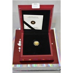 "Royal Canadian mint $5 pure silver ""Queen's Diamond Jubilee"" coin, 99.9% pure gold 3.13gram coin"