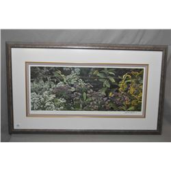 "Framed limited edition print ""Roadside Tapestry"" pencil signed by artist Robert Bateman, with Coa an"