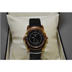 Brand new jewellery store inventory gent's Swiss made Revelation Rotary watch, with reversible black