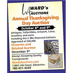 Premier Thanksgiving Day Auction