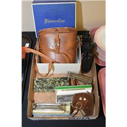 Selection of vintage harmonicas including Cello, Chromatic etc. plus two miniature harmonicas and a