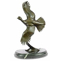 Juno Female California Quail Bronze Sculpture