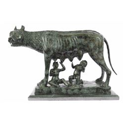 Replica The Capitoline Wolf Bronze Statue