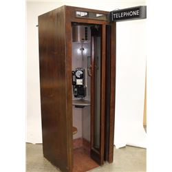Vintage Telephone Booth