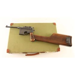 *Fine All Matching Mauser C96 'Broomhandle'