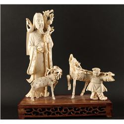 Pre Ban Chinese Carving