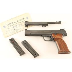 Smith & Wesson 41 .22 LR SN: 40497