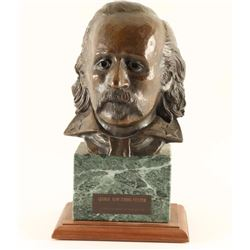 Bronze Bust of George Armstrong Custer