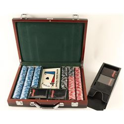 Cased Poker Set