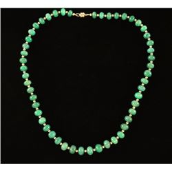 Beryl Emerald Necklace