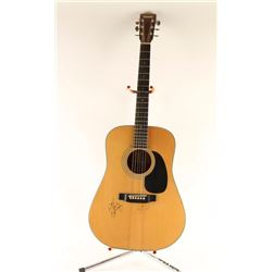 Signed Yamaki Acoustic Guitar