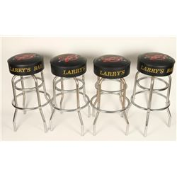 Lot of 4 Budweiser Barstools