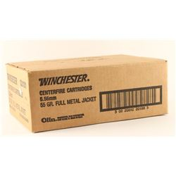 Lot of Winchester 5.56mm Ammo