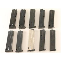 Lot of 10 Beretta 92 Mags