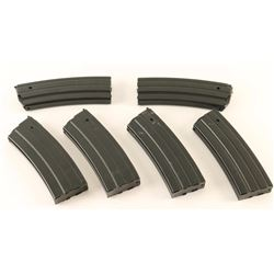 Lot of 6 Ruger Mini-14 Mags
