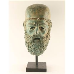Grecian Bronze Head