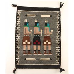 Navajo Three Figure Yei Textile