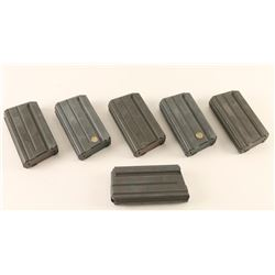 Lot of 6 Colt AR-15 Mags