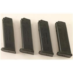 Lot of 4 H&K USP Mags