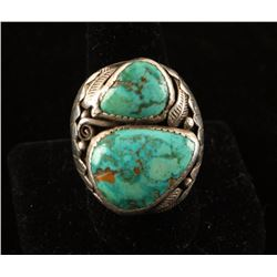 Turquoise & Sterling Silver Ring