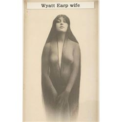 Print of a Photo of Wyatt Earp's Wife