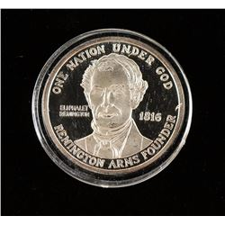 Remington Commemorative Silver Coin
