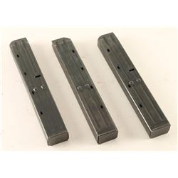 Lot of 3 IMI Uzi Mags
