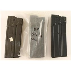 Lot of 3 HK G-3 Mags