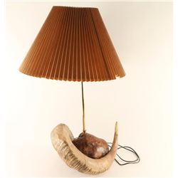 Western Lamp with Horn