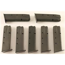 Lot of 7 Sig Sauer 226 Mags