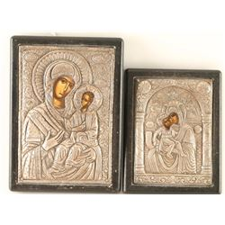 Pair of Russian Icons