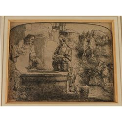 Early 1900's Fine Art Etching
