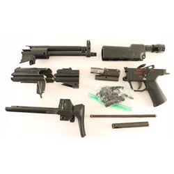 HK 53 Machine Gun Parts